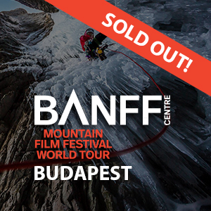 Banff Hegyifilm Fesztivál Napijegy – április 13. 19:00
