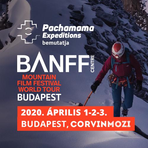 Banff Hegyifilm Fesztivál – április 1. 19:00