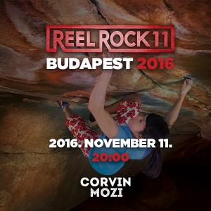 Reel Rock 10 Budapest - Corvin Mozi, Korda terem - 2016. november 11.
